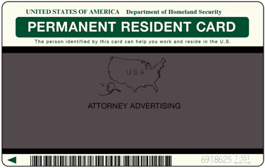 [The person identified by card above can help you work and reside in the U.S.]