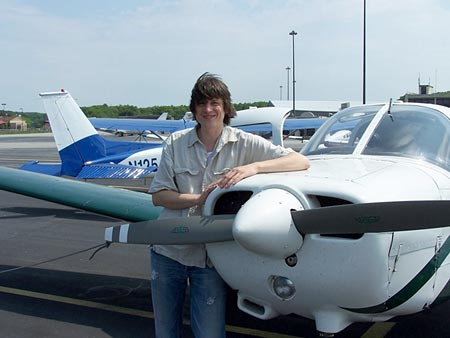 jan albrecht and nice airplane